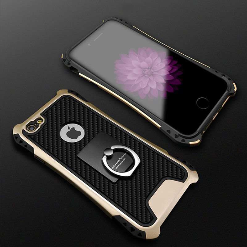 Fashion-Shockproof-Armor-Kickstand-Phone-Case-For-iPhone-XS-X-6-6S-7-8-Plus-Finger(1)