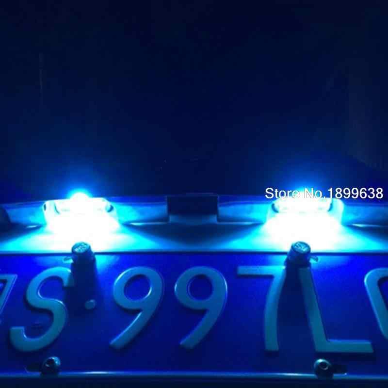 1pc 安全エラーなし T10 ライト 194 W5W led ライセンスプレートライト LED ランプ用 EcoSport 久我エッジ