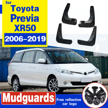 Car Mudflap for Toyota Previa XR50 2006~2019 Estima Tarago Fender Mud Guard Flap Splash Flaps Mudguards Accessories 2010 2015 ветровики skyline toyota previa estima tarago 05 комплект 2 шт