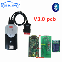 цена на New vci VD TCS CDP 2015.R3 With bluetooth Scanner for car truck obd2 same as delphis of vd ds150e cdp diagnostic tool free ship