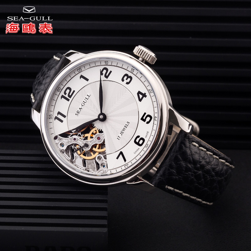 Seagull Seagull Watch Men's Large Dial Manual Mechanical Watch Waterproof Watch Small Second Hand Men's Watch fashion watchM222s