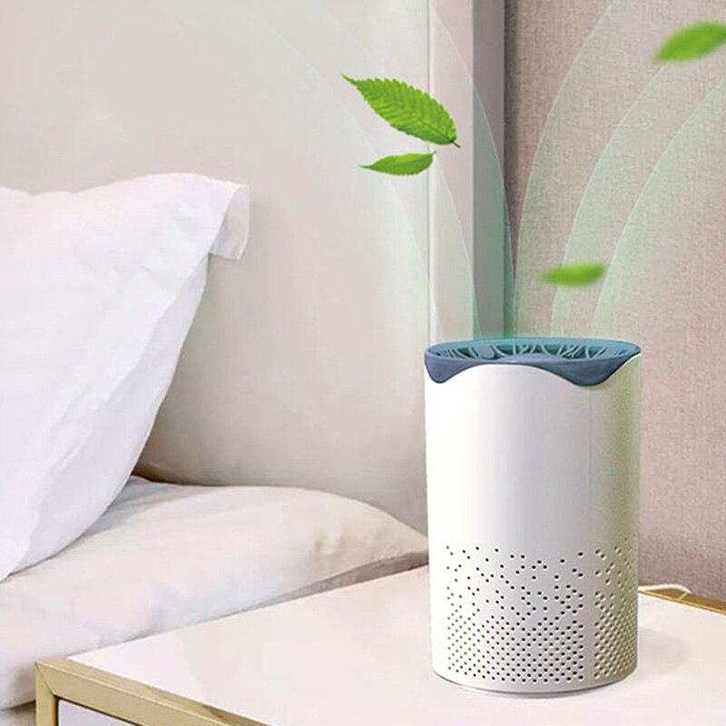Купить с кэшбэком UV Air Purifier Air Cleaner Fresh Ozone Home Bedroom Auto Smoke Formaldehyde