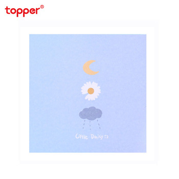 1pc Cute daisy post-it notes cartoon note book stick note for student message memo sheets school office supply new stationery 2pcs creative students stationery post it note with writing pad clip cartoon cute n times posted message notes