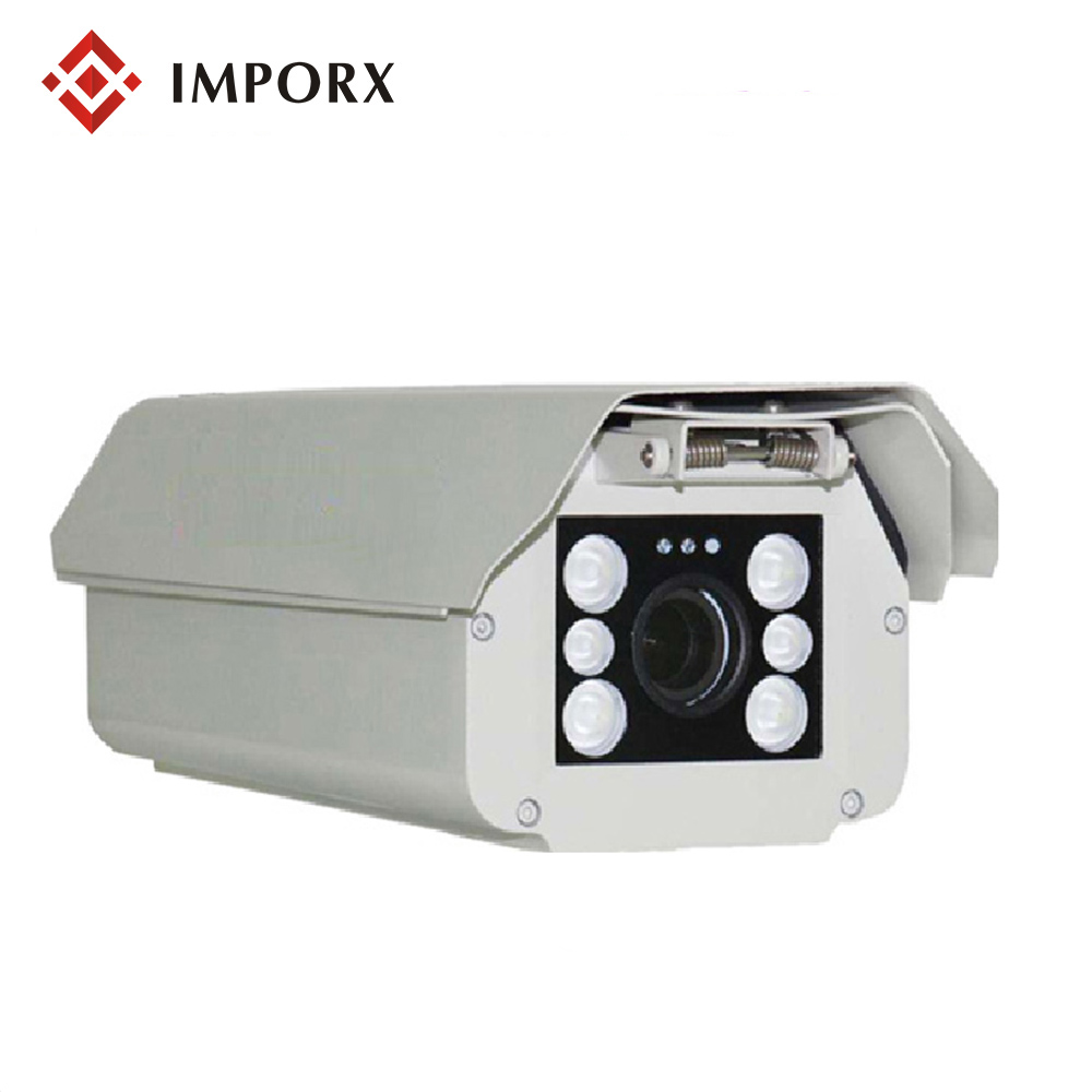 IMPORX Smart AHD Licence Plate Camera 1080P HD IR Night Vision 2MP ONVIF LPR Camera ANPR Car Number Recording Camera With 6-22mm