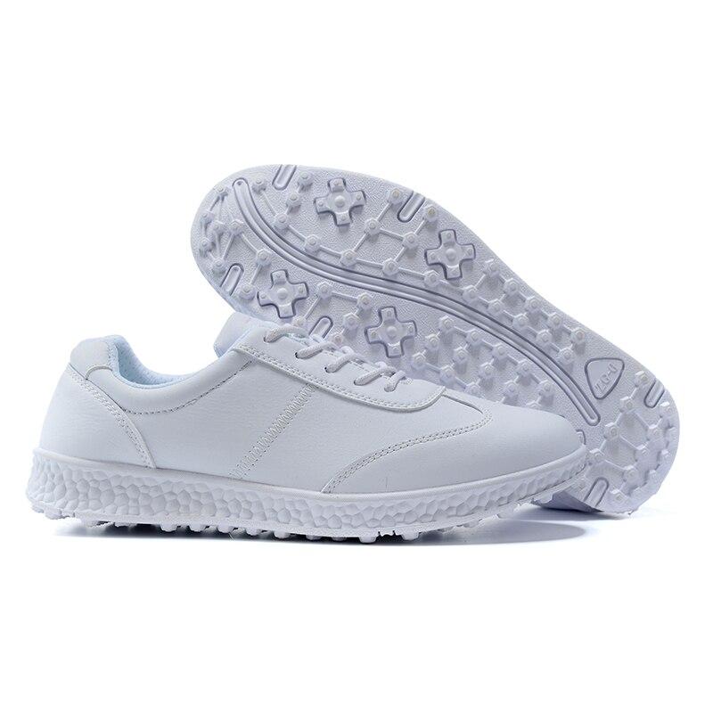 Women's Golf Shoes Female Athletics Golf Sport Sneakers White Skateboarding Sneakers Golf Training Shoes Luxury Sports Golfing