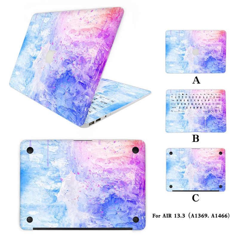 Полный корпус ноутбука наклейка для Apple Macbook Air 13 3 дюймов MAC винил ПК ноутбук Кожа