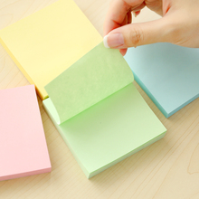 Colour Self Stick Notes Self-adhesive Sticky Note Cute Notepads Posted Writing Pads Stickers Paper 100 Sheets/pad Memo Pad