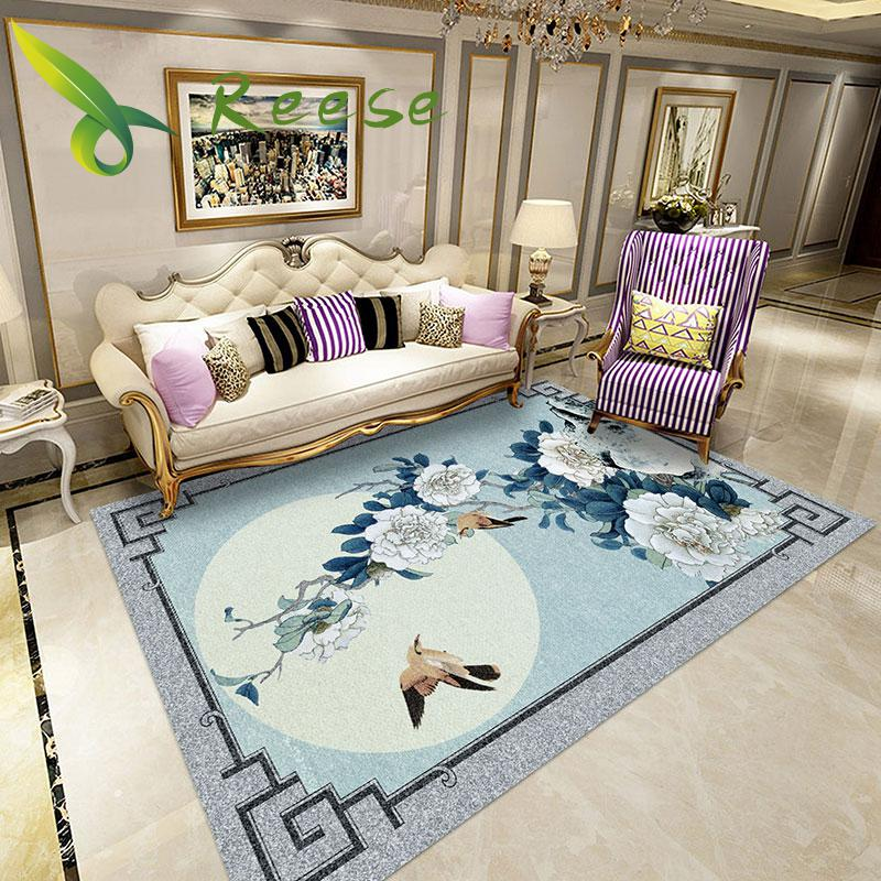 Alibaba Hot Sale High Quality Traditional Chinese Carpet Non-slip Antifouling Rug For Living Room Bedroom Parlor Factory Supply