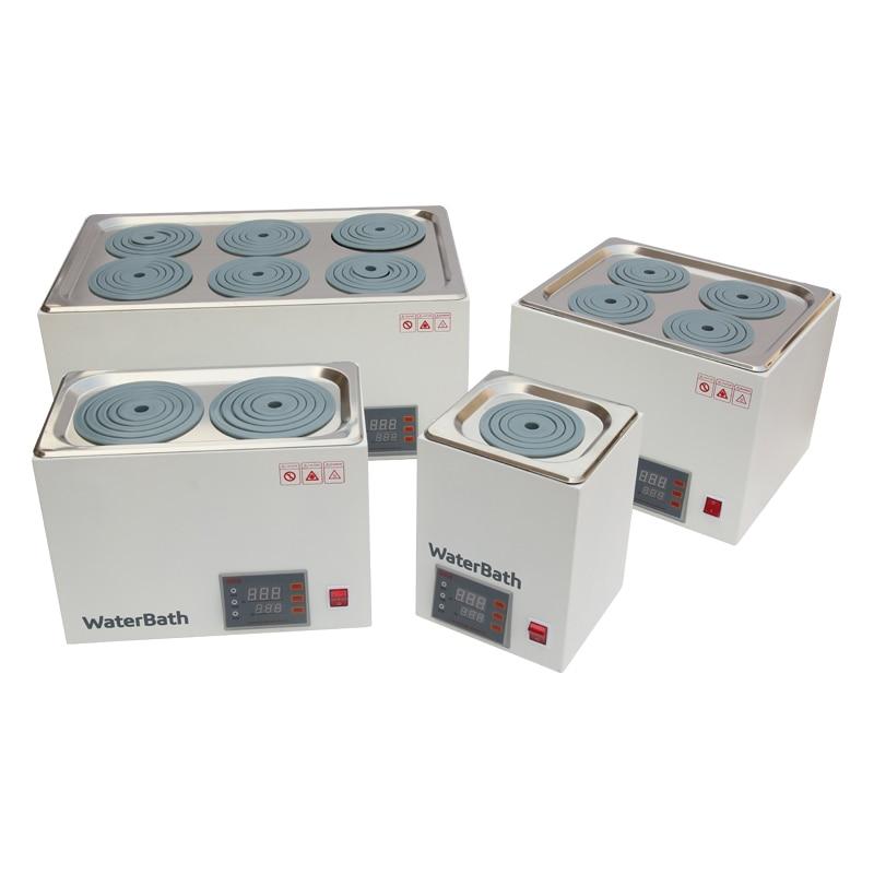 DXY digital thermostat water bath hot bath pot Digital constant temperature Water Bath Labs Experiments 1/2/4/6 holes - 6