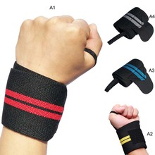 Hot 1PC Wrist Support Gym Weightlifting Training Weight Lifting Gloves Bar Grip Barbell Straps Wraps Hand Protection oem gym weight lifting leather xrossfit training barbell pull up hand grip workout sport bodybuilding fitness hand gloves