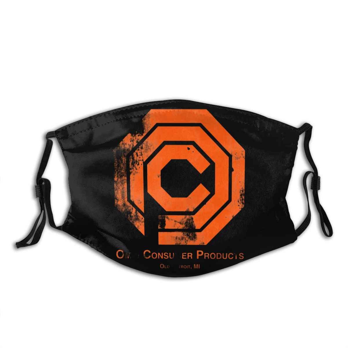 Robocop рот маска для лица OCP проблемная маска для лица Kawai Cool с 2 фильтрами для взрослых