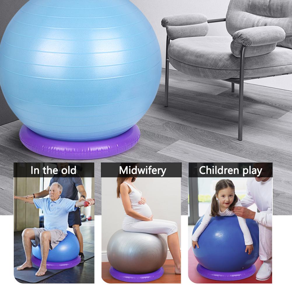 Yoga Ball Base 42CM Balance  Base StabilitäT ÜBungsball Base für Fitness-StuN5P5