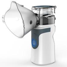 Мини портативный ингалятор Nebulizer сетчатый распылитель тихий inalador usb autoclean nebulizador взрослый автоматический ингалятор для детей