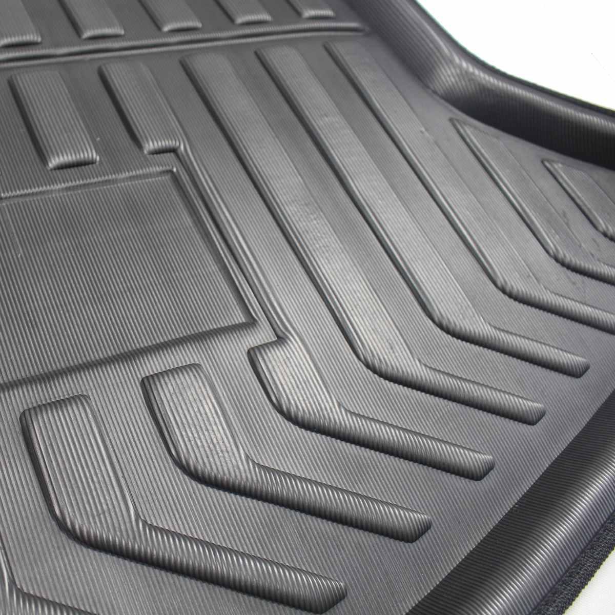 Image 5 - Cargo Liner Boot Tray Rear Trunk Cover Matt Mat Floor Carpet Kick Pad Mud Non slip For Mazda CX 5 CX5 MK2 2017 2018 2019 2nd