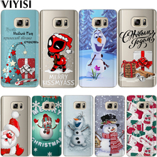 Case Cute Deadpool Christmas Snowman Etui For Samsung Galaxy A30 A50 A