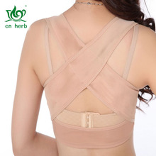 Cn Herb Come Gather Corrected With Chest Chest Shape Blouse Adult Men And Women Hunchback Orthotics chest pocket wrap blouse