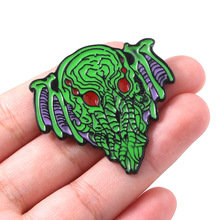 Cthulhu Mythos Hastur Pins The Call of Badge Brooch for Women Men Lapel Pin Jewelry Gift