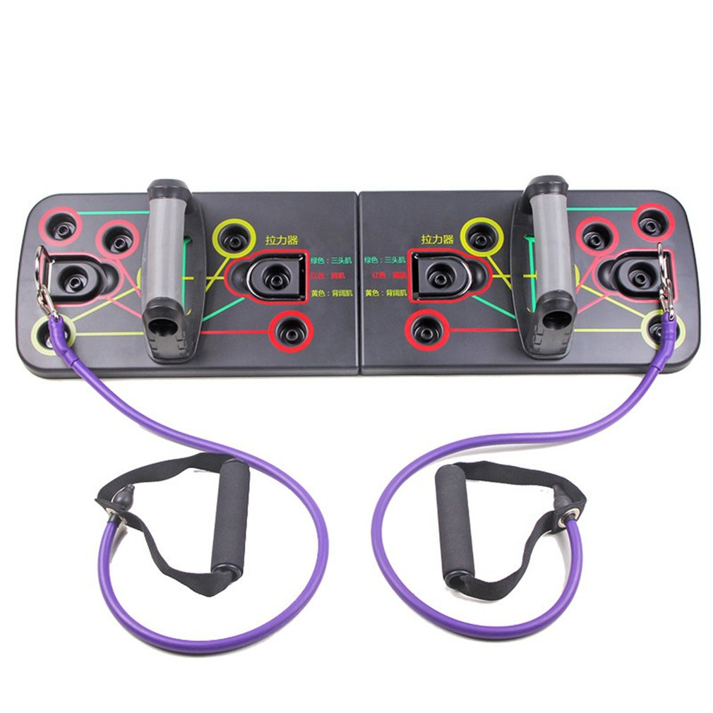 13 In 1 Push Up Rack Board System Fitness Workout Gym Exercise Stands Foldable Push-up Support Training Board