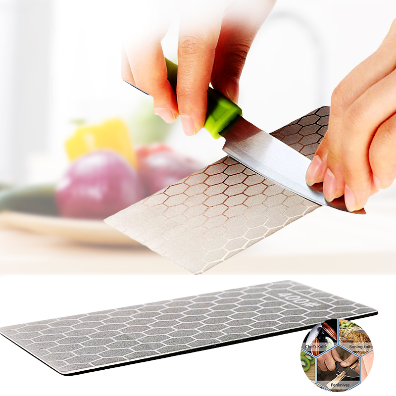Diamond Knife Sharpening Stone Knife Honeycomb Sharpener Whetstone Grindstone Cutter Tool Set Kitchen Tools