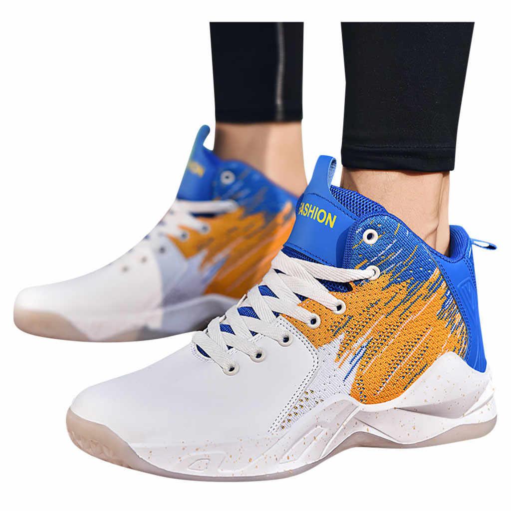 SAGACE 2019 Harajuku sonbahar Vintage spor ayakkabı erkekler nefes alan günlük ayakkabılar erkekler rahat moda kaymaz basketbol ayakkabıları Oct 9
