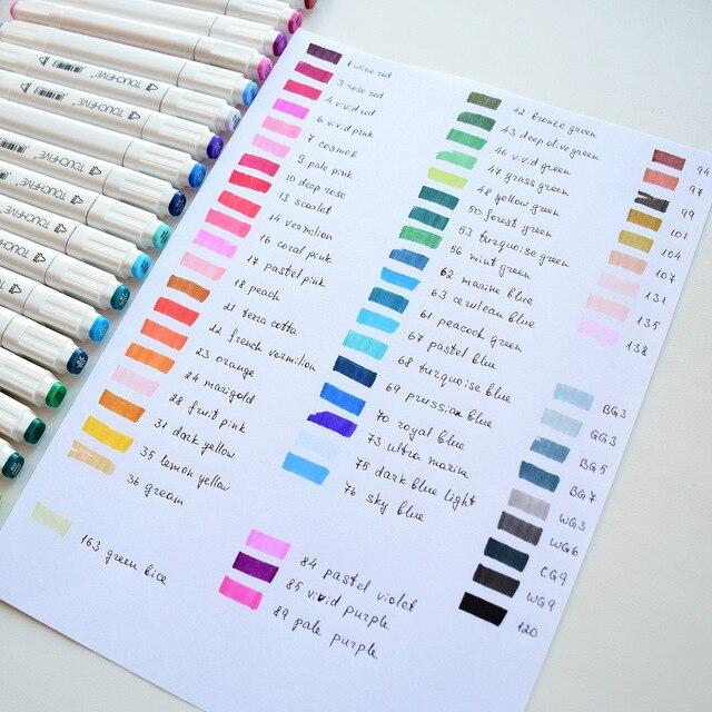 touchfive 80 marcadores de cor branca manga 04