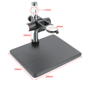 Agnicy Heavy duty Video Mikroskop Basis Mikroskop Einstellung Halterung Elektronische Industrie Kamera Monokulare 50mm Halterung-in Monokular/Fernglas aus Sport und Unterhaltung bei