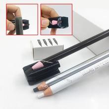 Pencil-Sharpener Lip-Liner Eyebrow Permanent-Makeup Multifunctional-Tools Black for 4-In1