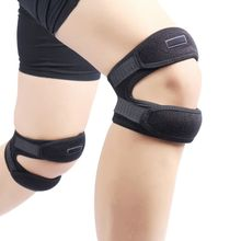 Sport Professional Shock Absorbing Knee Accessories Outdoor Basketball Football Cycling Fitness Dance Adjustable Pads 1PC