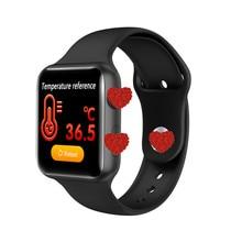 V10 Temperature Smart Watch Men Women Smartwatch Fitness Bra