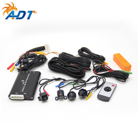 3D HD Surround View Monitoring System SVM 360 degree rotation LED security camera Universal headlight