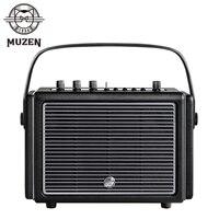 MUZEN Mate4 Professional Stereo Wireless Bluetooth Speaker 64W Wooden Retro Multi-Directional Sound Field Subwoofer MW-M4