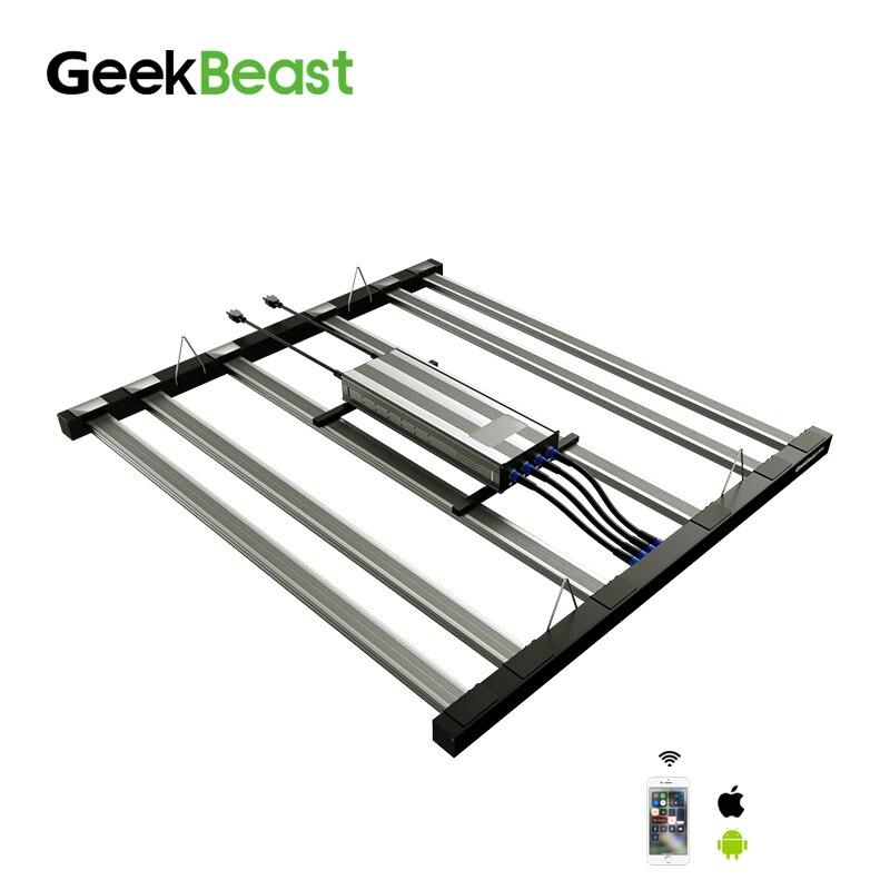 Indoor Grower Geekbeast Pro Average Ppfd Samsung Lm301h Led Grow Light Bar Mix Osr 660nm Lg Uv Osr Ir Switches