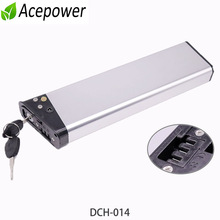 36V E bike Battery 7Ah 7.5Ah 10.5Ah 48V 7Ah Folding Electric Bike Built-in Battery DCH-014