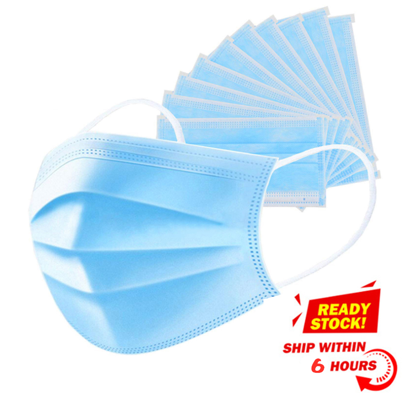 Protective Mask 3-layer Disposable Mask Spray Melting Cloth CE Authentic Certification Large Manufacturers Supply Masks