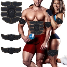 Electric Abdominal Muscle Trainer Fitness Fitness Gym Exercise Equipment Body Slimming Training Fat Burning Muscle Stimulator mini ultra thin vibration fitness massager healthy sports high frequency fat burning 9 model family gym fitness equipment hwc
