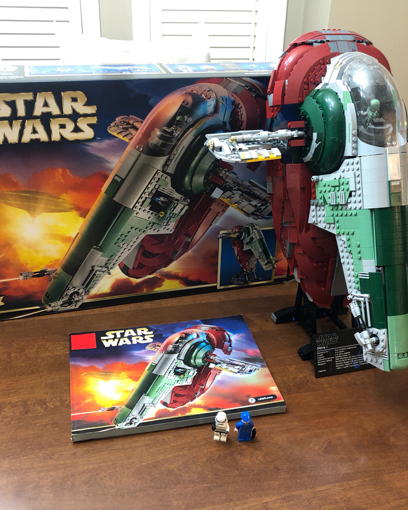 IN STOCK 05037 Lepinblocks Slave I Compatible with wars legoset 75060 Star Building Blocks Bricks Educational Toys Gift 81039