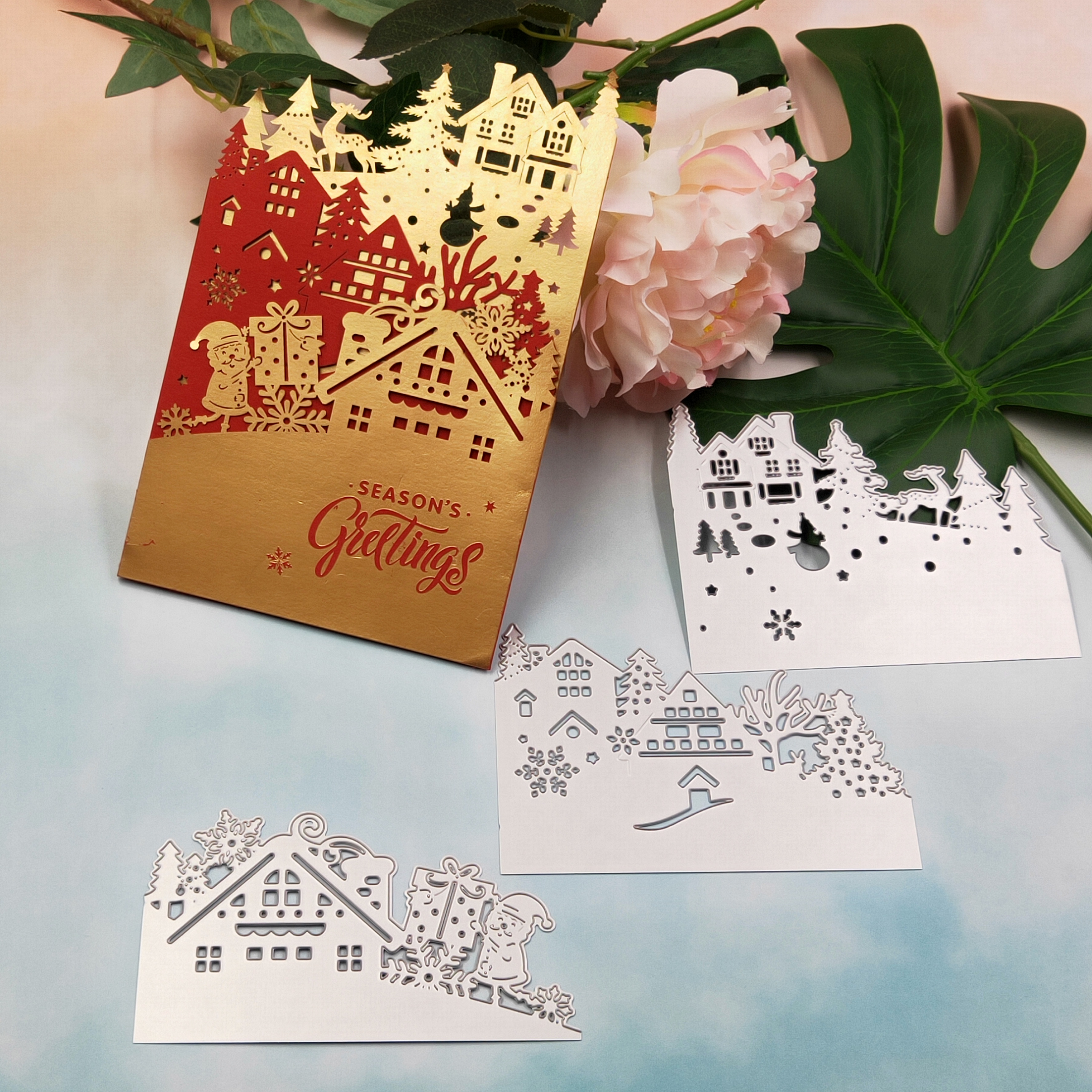Cover Design Metal Cutting Die For DIY Scrapbooking Paper Card L Ao