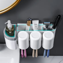 Настенная стойка для зубных щёток aoilet без перфорации