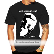 Sigmund Freud T-Shirt Whats on A Man Mind Tee Shirt Summer Casual Man T Shirt Good Quality Top Tee Loose Clothes