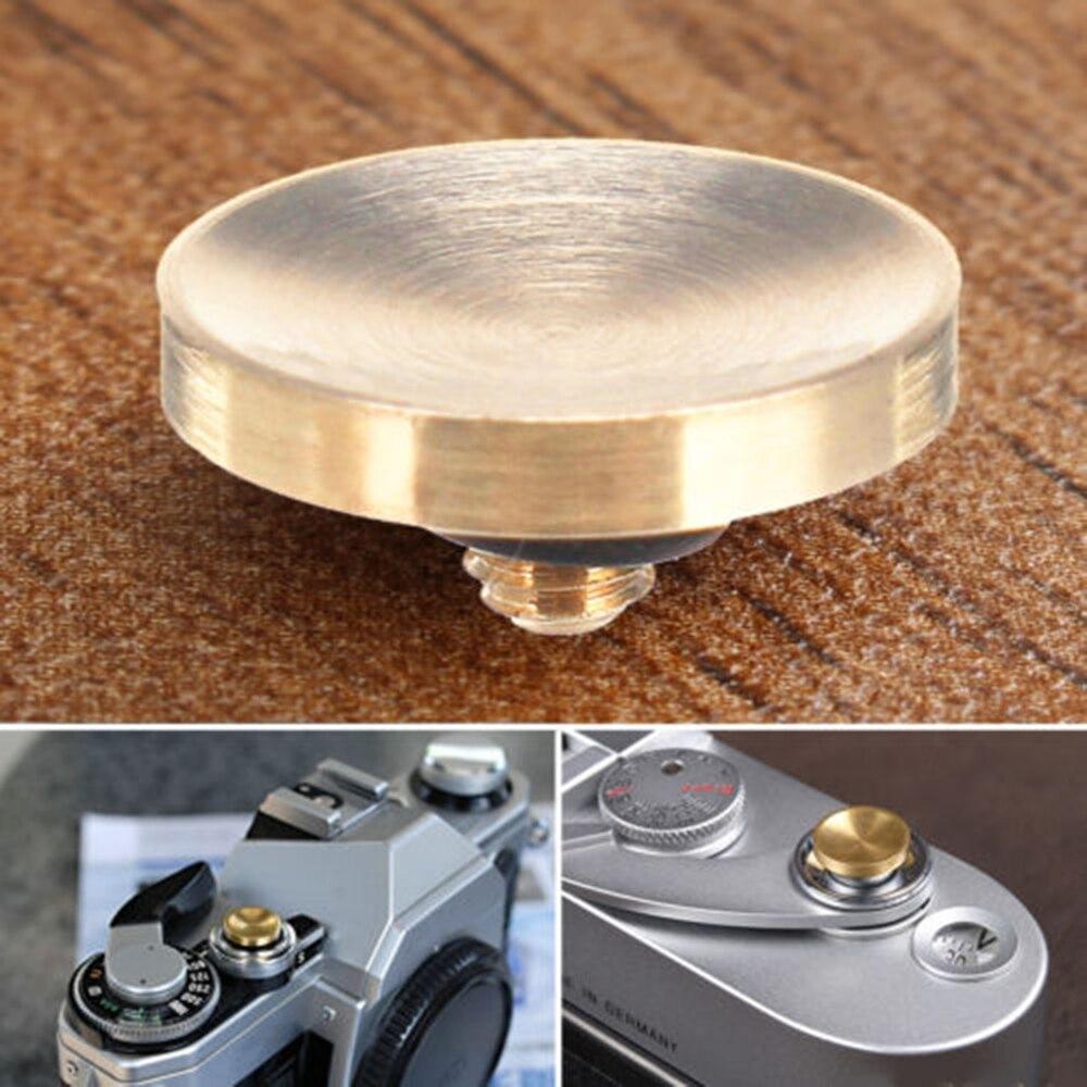 1Pcs Metal Brass Shutter Release Button Concave For  Fuji FilmRolleiflex Hasselblad For Fuji FujiFilm X100F X E3 XT2 XT10 XT20