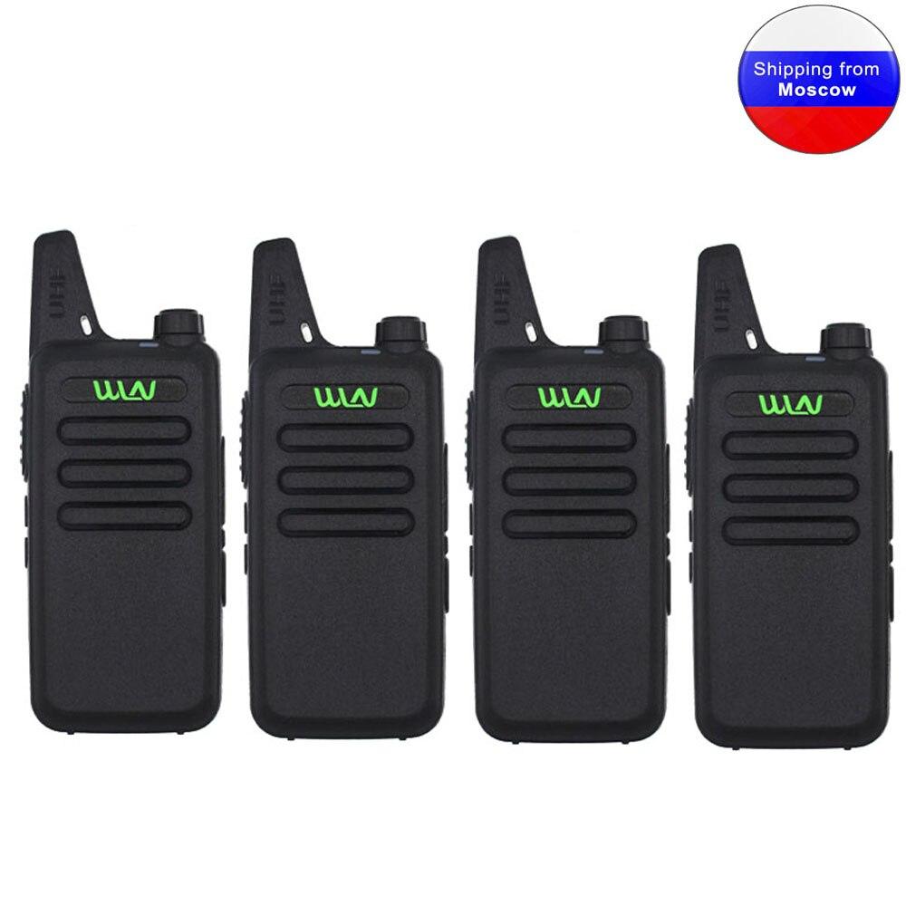 16-Channel Uhf-Transceiver Walkie-Talkie Wln kd-C1 Portable Radio Mini 5W 400-520mhz