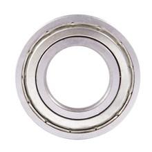 1x 6207-ZZ Ball Bearing, Deep groove Ball Bearings Silver 30pcs lot f623zz f623 zz 3x10x4mm flange bearing deep groove ball radial ball bearing brand new