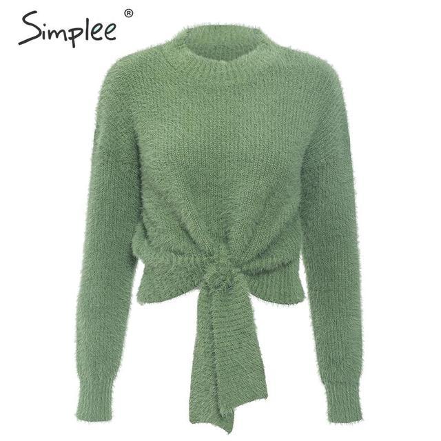 SIMPLEE Trendikas pullover