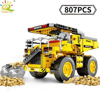 807 pièces Technic Mine camion jouets blocs de construction compatibles Legoinglys ville ingénierie véhicule voiture digging briques enfant créatif