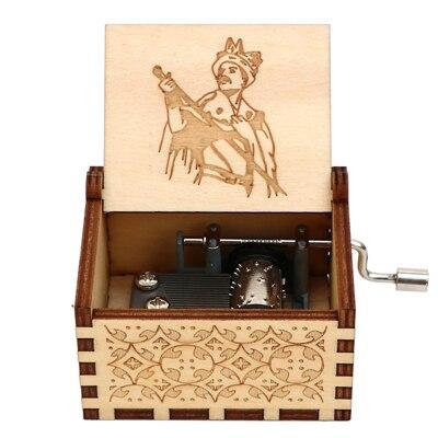 Гравировка ручной работы деревянная Настя музыкальная копилка подарок на день рождения на Рождество, дочь, подарки на день рождения для влюбленных - Цвет: QUEEN 06
