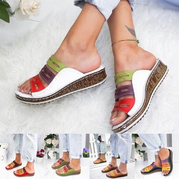 open toe casual shoes