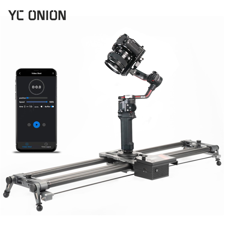 YC Onion Generation 3.0 Camera DSLR Slider Motorized Rail Dolly App Control Phone Video Shooting Super Low Noise Motor 60-120CM