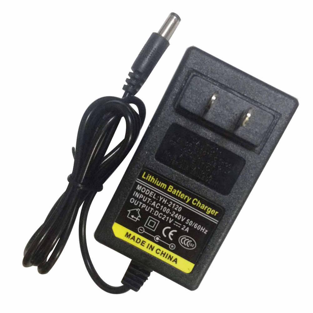 8.4-42V 1A 2A EU/MỸ Cắm Bảo Vệ Quá Tải Điện Sạc Chuyển Đổi Đa Chức Năng Lý-Pin pin Sạc Li-ion