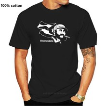 Mens El Comandante Fidel Castro Kuba Kuba Kommunist Casual T-Shirts Männer T