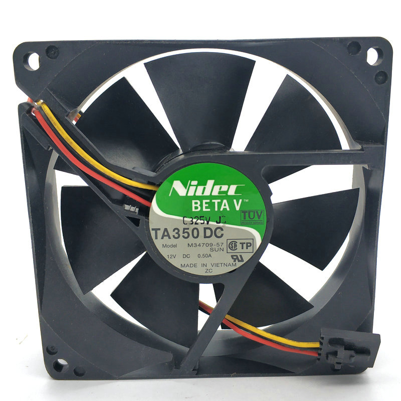 Genuine M33503-57G2 9CM 9025 9225 12V 0.40A 3-wire cooling fan